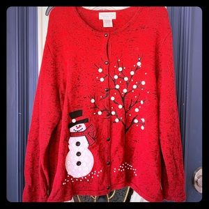 ❄️❄️vintage holiday sweater